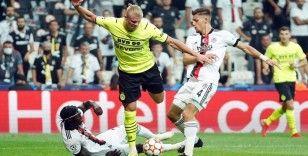 UEFA Şampiyonlar Ligi: Beşiktaş: 0 - Borussia Dortmund: 1 (Maç devam ediyor)