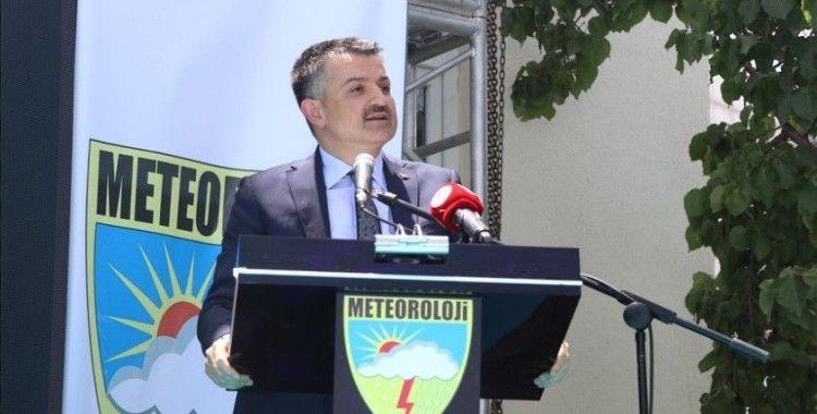 Pakdemirli, Meteoroloji Genel Müdürlüğüne 100 personel alınacağını bildirdi