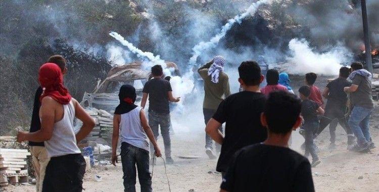 İsrail güçleri Batı Şeria'daki gösterilerde 5 Filistinliyi yaraladı