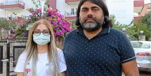 Antalya'daki palalı saldırıya ait görüntüler ortaya çıktı