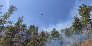 Mersin'in Anamur ilçesinde çıkan orman yangını kontrol altına alındı