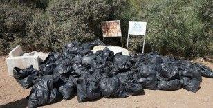 Sosyetenin gözde koyunda çıkan çöpler şaşırttı
