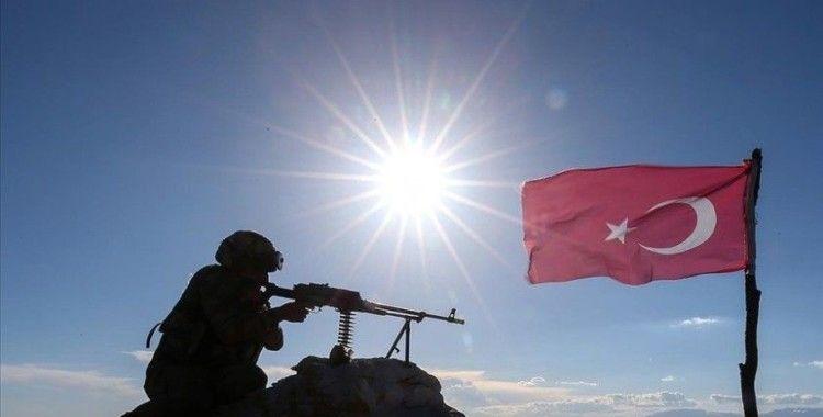 Barış Pınarı bölgesinde 7 PKK/YPG'li terörist etkisiz hale getirildi