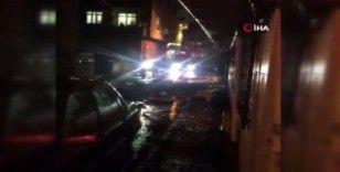 İstanbul'da akşam saatlerinde şiddetli yağış etkili oldu