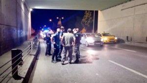 Pendik'te trafikte tekmeli tokatlı kavga