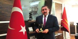 Başkan Vidinlioğlu'na bir ödül daha