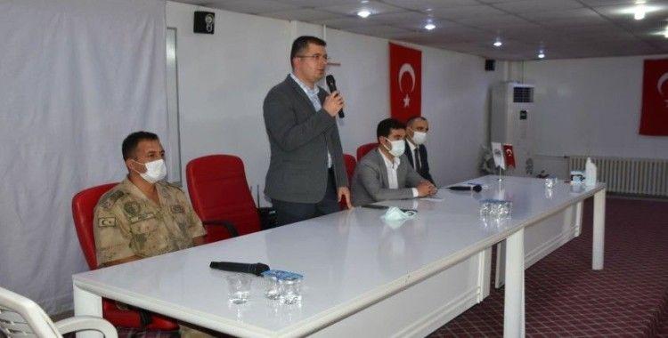 Dargeçit'te bilgilendirme toplantısı gerçekleştirildi