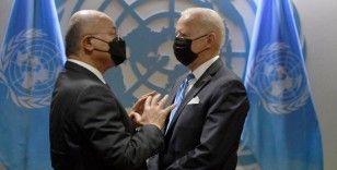 Irak Cumhurbaşkanı Salih, ABD Başkanı Biden ile görüştü