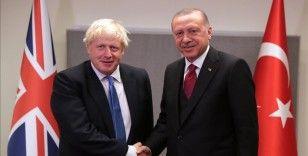 Cumhurbaşkanı Erdoğan, New York'ta İngiltere Başbakanı Johnson'u kabul etti