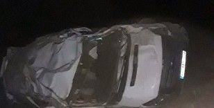 Van-Bahçesaray karayolunda trafik kazası: 1 ölü, 1 yaralı