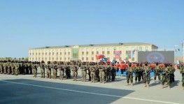 Azerbaycan'da 'Üç Kardeş 2021' tatbikatının kapanış töreni düzenlendi