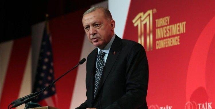 Cumhurbaşkanı Erdoğan, ABD'de iş adamlarına seslendi
