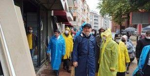 Bakan Soylu, selin vurduğu Bozkurt'ta incelemelerde bulundu
