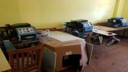 Kiralık evi kaçak sigara imalathanesine çevirmiş