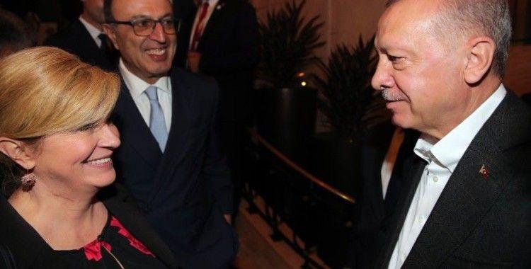 Cumhurbaşkanı Erdoğan, Hırvatistan ve Bulgaristan eski cumhurbaşkanları ile görüştü