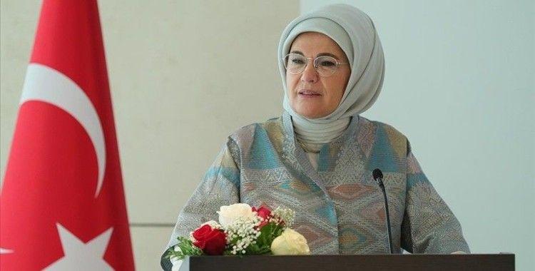 Emine Erdoğan'dan kadınlara 'sürdürülebilir dünya inşa edelim' çağrısı