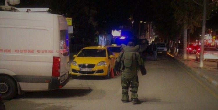 Van'ın en işlek caddesinde şüpheli paket alarmı