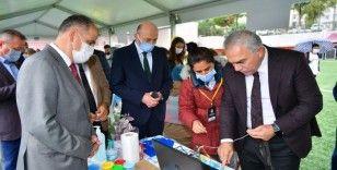 """""""Fatih 4007 TÜBİTAK Bilim Şenliği"""" projesine yoğun ilgi"""