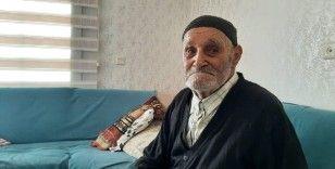 107 yaşındaki Osman dede 40 yıl önce evi terk eden oğlunu arıyor