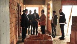 Kastamonu Belediye Başkanı Vidinlioğlu, Huzurevinin İnşaatını İnceledi