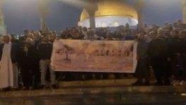 Filistinli ailelerin çağrısının ardından Mescid-i Aksa'ya akın