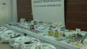 İstanbul'da sahte Covid-19 ilaç operasyonu, 4,5 milyon TL'lik sahte ilaç ele geçirildi