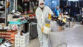 18 ayda 78 bin 200 kez dezenfeksiyon, 1 milyon 912 bin 220 kez ilaçlama yapıldı