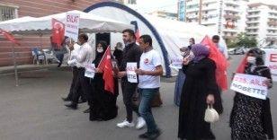HDP İl Binası önünde bu kez 'Baba' nöbeti