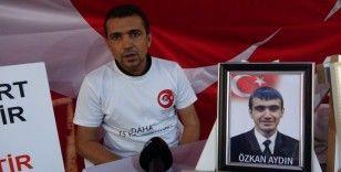 Evlat nöbeti tutan baba: 'HDP milletvekilleri Kandil'i çok seviyorlarsa onlar gitsinler, neden gitmiyorlar'