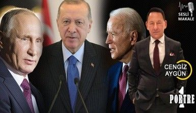 Türk-Amerikan ilişkileri Biden'la, Türk-Rus ilişkileri de Putin'le görüşmeden ibaret değildir!..