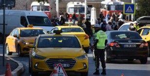 İstanbul'da taksicilere yönelik denetimler sürüyor