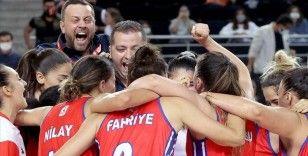Basketbolda Kadınlar Federasyon Kupası Mersin Büyükşehir Belediyespor'un