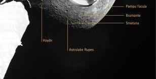 Avrupa Uzay Ajansı'nın BepiColombo misyonu Merkür'ün ilk fotoğraflarını gönderdi