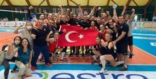 İşitme Engelliler Kadın Voleybol Milli Takımı dünya şampiyonu
