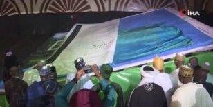 Dünyanın en büyük resimli kitabı Nijerya'da tanıtıldı
