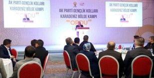 Cumhurbaşkanı Erdoğan AK Parti'li gençlere seslendi: 'Durmak yok yola devam'