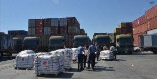 MSB'den Lübnan ordusuna temel tüketim malzemeleri desteği