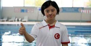 Down sendromlu milli yüzücü, Avrupa Oyunları'nda altın madalya hedefliyor