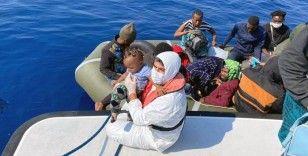 Muğla'da 131 düzensiz göçmen kurtarıldı