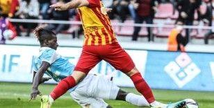Kayserispor - Trabzonspor karnesi