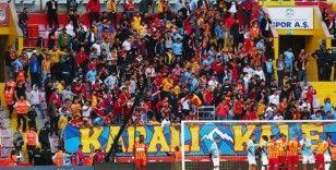 Kayserispor - Trabzonspor maçını 4 bin 289 taraftar izledi
