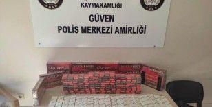 Gaziantep'te bir haftada 37 bin paket kaçak sigara yakalandı