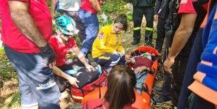 3 gündür kayıptı, ormanda yaralı bulundu