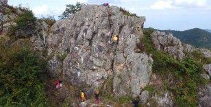 Milli dağcı Tunç Fındık, Ordu'da tırmandığı tepede 10 rota açtı