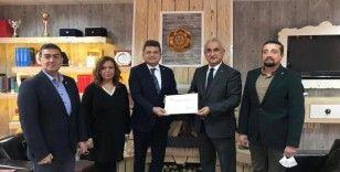 Kastamonu Valisi Avni Çakır'dan teşekkür belgesi