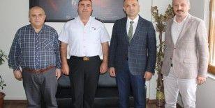 Kastamonu İl Jandarma Komutanı Avkıran, Anadolu Hastanesi'ni ziyaret etti
