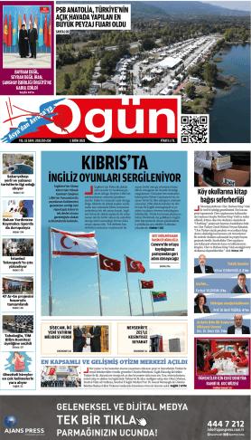 OGÜN Gazetesi Sayı:256