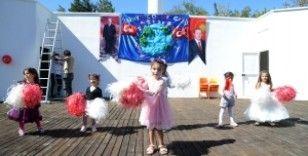Diyarbakır'da çocuklar doyasıya eğlendi