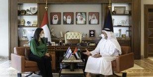 BAE İçişleri Bakanı Al Nahyan, İsrailli mevkidaşı Ayelet Shaked ile görüştü