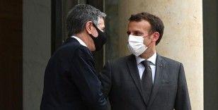 Macron 'denizaltı krizi'nin ardından ABD'li yetkililerle ilk yüz yüze teması gerçekleştirdi